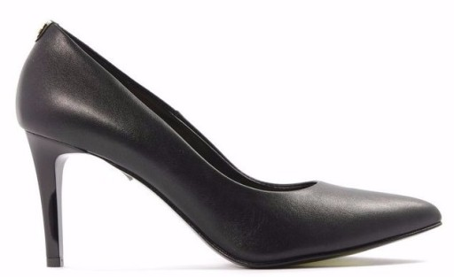 c25b5a877e70 Sala czarne czółenka 40 skóra 1816 08 buty damskie 7850223537 - Allegro.pl
