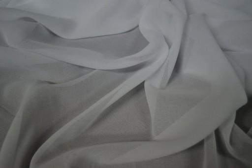 Materiał Tkanina żorżeta Firany Wys 320 Cm Biała
