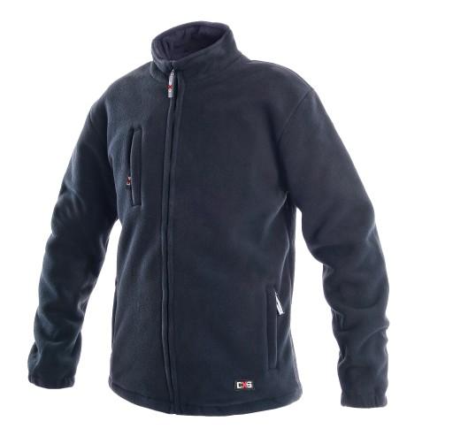 Gruby Polar Bluza Ciepła CXS Otawa Granat 450gr XL