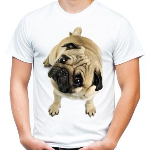 dd654fd6 Koszulka z psem Mopsem pies Mops na prezent -XXL