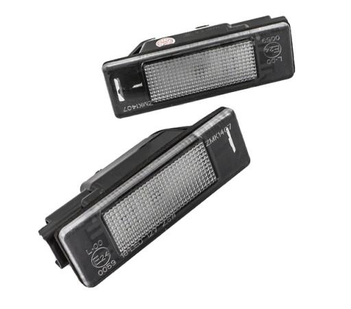 Podświetlenie Led Tablicy Peugeot 307 308 3008