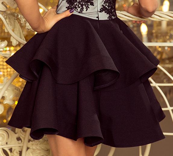 EKSKLUZYWNA Sukienka Koronkowa NA IMPREZĘ 200-3 S 9346605738 Odzież Damska Sukienki wieczorowe YW LKIGYW-9