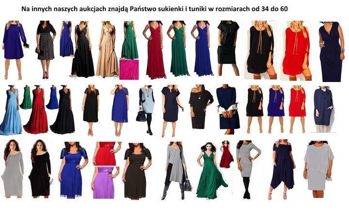 LAURA maxi roz 34 36 38 40 42 44 46 48 50 52 9795269844 Odzież Damska Sukienki wieczorowe OD QXDDOD-3