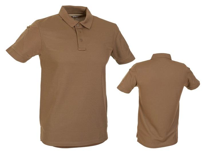 Termoaktywna KOSZULKA POLO QUICK DRY Coyote - S 8995485041 Odzież Męska Koszulki polo PP JSFNPP-3
