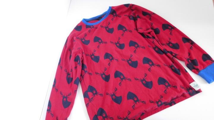 Bluzka świąteczna 13lat 158cm Renifer 7621888696 Dziecięce Odzież ZB IIFCZB-2