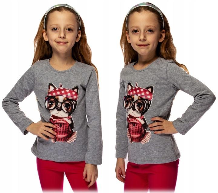 YOUR WORLD BLUZKA PIESEK EFEKT 3D KOLORY 98 J73Ł 7785143889 Dziecięce Odzież ZI YUBLZI-1